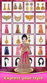 Indian Wedding Salon : Bridal Doll Maker screenshot 1
