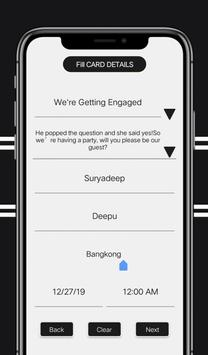Digital Invitation Card Maker screenshot 2