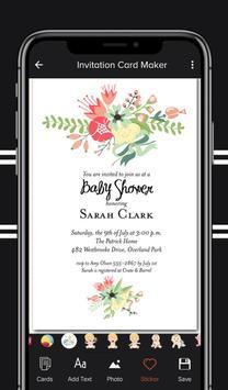 Digital Invitation Card Maker screenshot 6