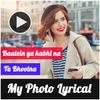 Lyrical Video Status Maker With Music أيقونة