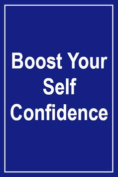 Boost Your Self Confidence الملصق