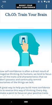 Boost Your Self Confidence تصوير الشاشة 4