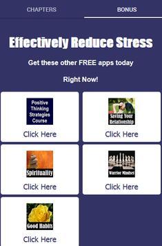 Stress Management - Effectively Reduce Stress screenshot 1
