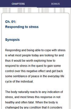 Stress Management - Effectively Reduce Stress screenshot 2