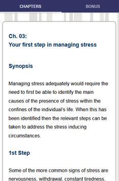 Stress Management - Effectively Reduce Stress screenshot 4