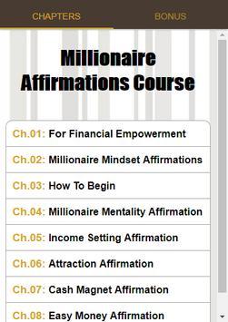 Millionaire Affirmations Course screenshot 11
