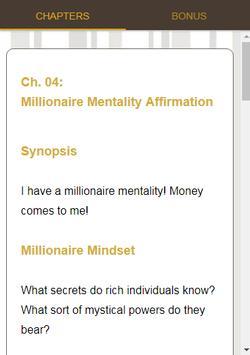 Millionaire Affirmations Course screenshot 16