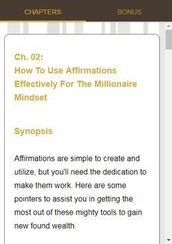 Millionaire Affirmations Course screenshot 7