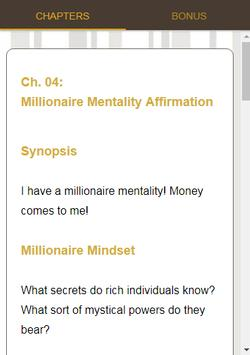 Millionaire Affirmations Course screenshot 9