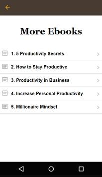 Productive Lifestyle screenshot 5