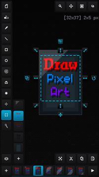 Draw Pixel Art Pro Poster