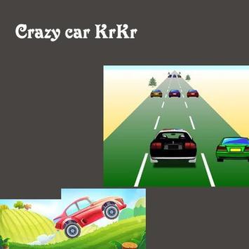crazy car roo poster