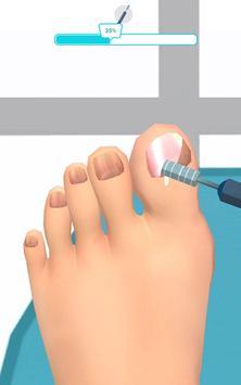 Foot Clinic - ASMR Feet Care captura de pantalla 4