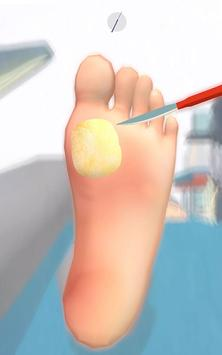 Foot Clinic - ASMR Feet Care captura de pantalla 1