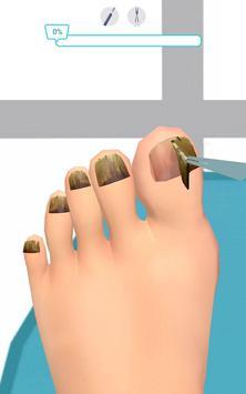 Foot Clinic - ASMR Feet Care captura de pantalla 2