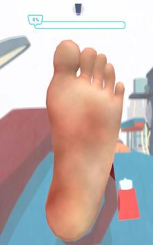 Foot Clinic - ASMR Feet Care captura de pantalla 3