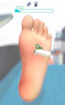 Foot Clinic - ASMR Feet Care captura de pantalla 5