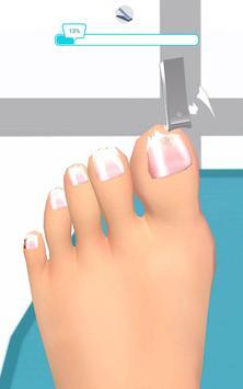 Foot Clinic - ASMR Feet Care captura de pantalla 6