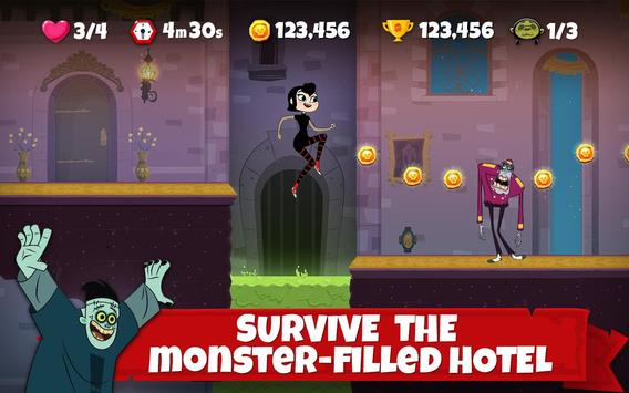 Hotel Transylvania Adventures - Run, Jump, Build! تصوير الشاشة 6