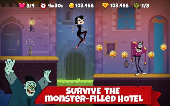 Hotel Transylvania Adventures - Run, Jump, Build! الملصق