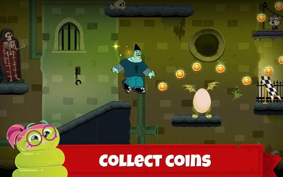 Hotel Transylvania Adventures - Run, Jump, Build! تصوير الشاشة 2