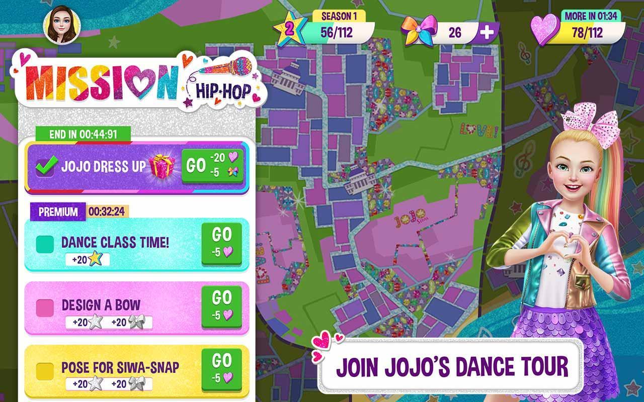 """Résultat de recherche d'images pour """"JoJo Siwa game hack"""""""