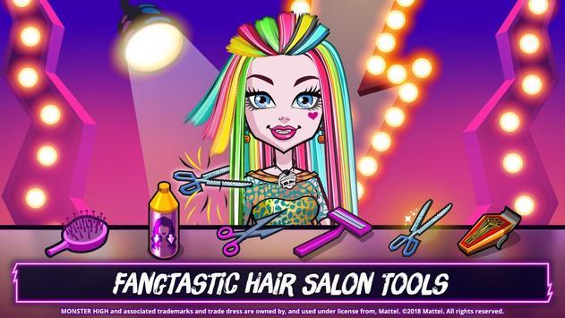 Monster High™ Beauty Shop: Fangtastic Fashion Game ảnh chụp màn hình 8