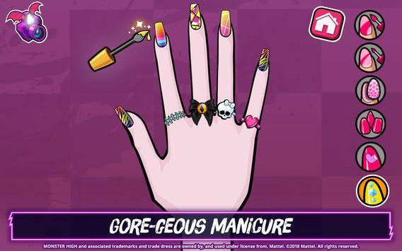 Monster High™ Beauty Shop: Fangtastic Fashion Game ảnh chụp màn hình 12