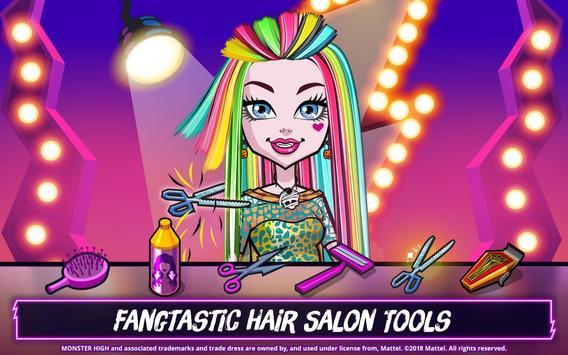Monster High™ Beauty Shop: Fangtastic Fashion Game ảnh chụp màn hình 13