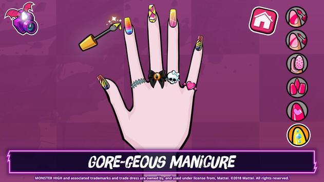 Monster High™ Beauty Shop: Fangtastic Fashion Game ảnh chụp màn hình 2