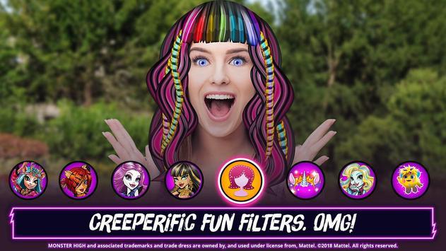 Monster High™ Beauty Shop: Fangtastic Fashion Game ảnh chụp màn hình 4