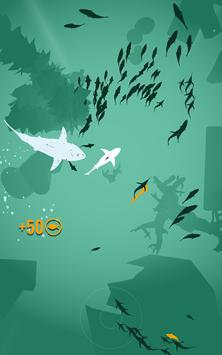 Shoal of fish poster
