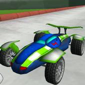 3D Racing : Stunt Arena 4 icon