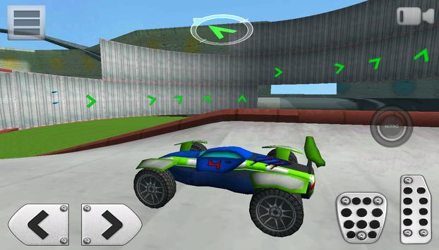 3D Racing : Stunt Arena 4 screenshot 18