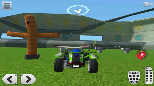 3D Racing : Stunt Arena 4 screenshot 2