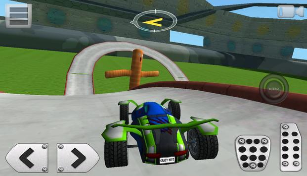 3D Racing : Stunt Arena 4 screenshot 7