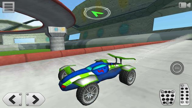 3D Racing : Stunt Arena 4 screenshot 5