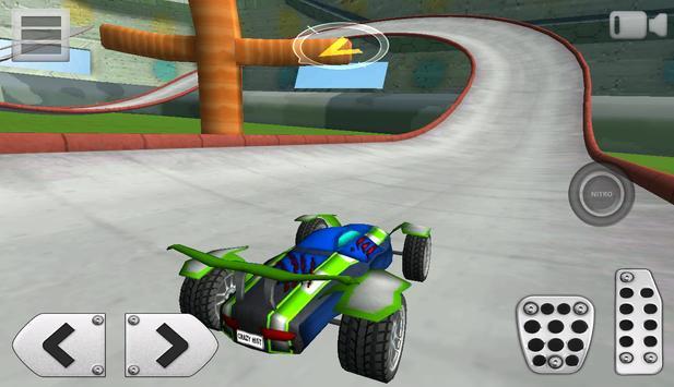 3D Racing : Stunt Arena 4 screenshot 6