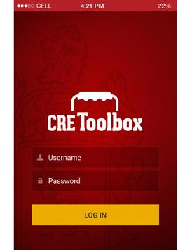 CRE Toolbox poster