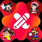 Create Stickers for WhatsApp - WAStickerApps icon