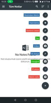 Notlarımı oluştur - not al, paylaş Ekran Görüntüsü 1