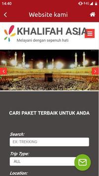 Umroh dan Haji - Khalifah Asia Tour&Travel screenshot 5