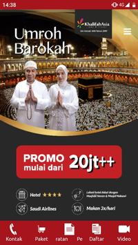 Umroh dan Haji - Khalifah Asia Tour&Travel screenshot 7