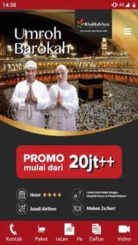 Umroh dan Haji - Khalifah Asia Tour&Travel poster