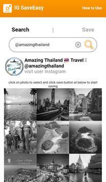 IG Save photo & video easy screenshot 1