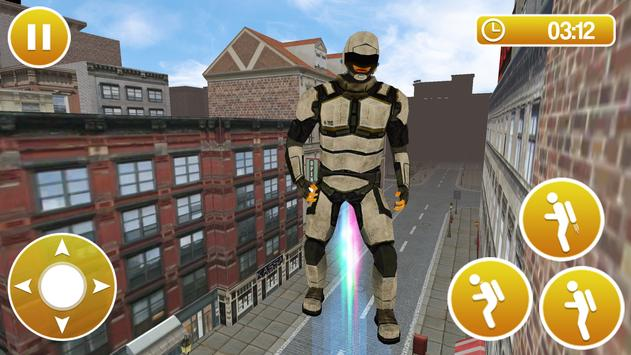 Flying Iron Hero Pizza Delivery screenshot 1