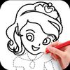 ikon How To Draw Princess