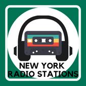 new york radio stations radio player app free icon