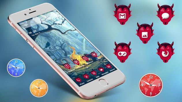 Devil Death Theme Launcher screenshot 1