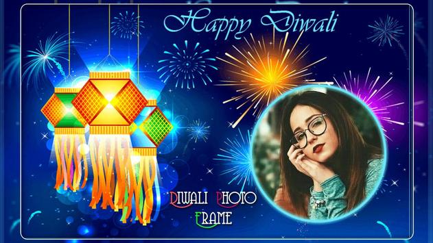 Diwali Photo Frame poster
